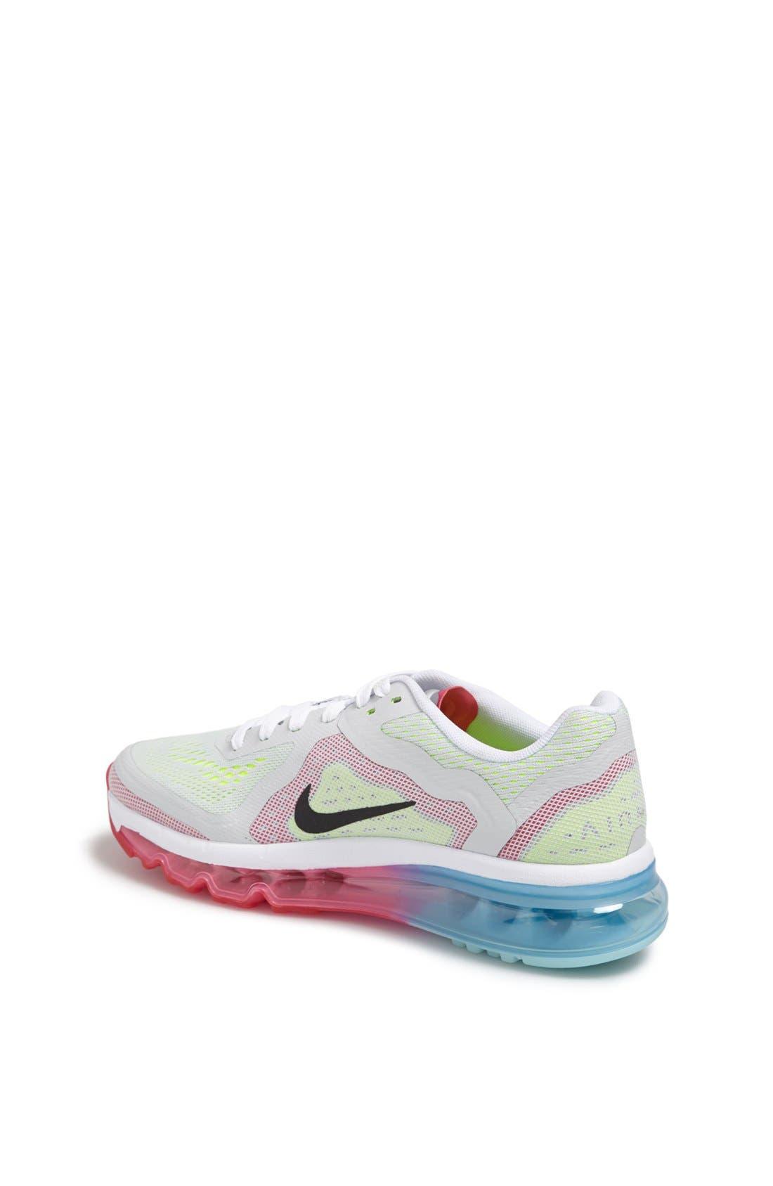 Alternate Image 2  - Nike 'Air Max 2014' Running Shoe (Big Kid)