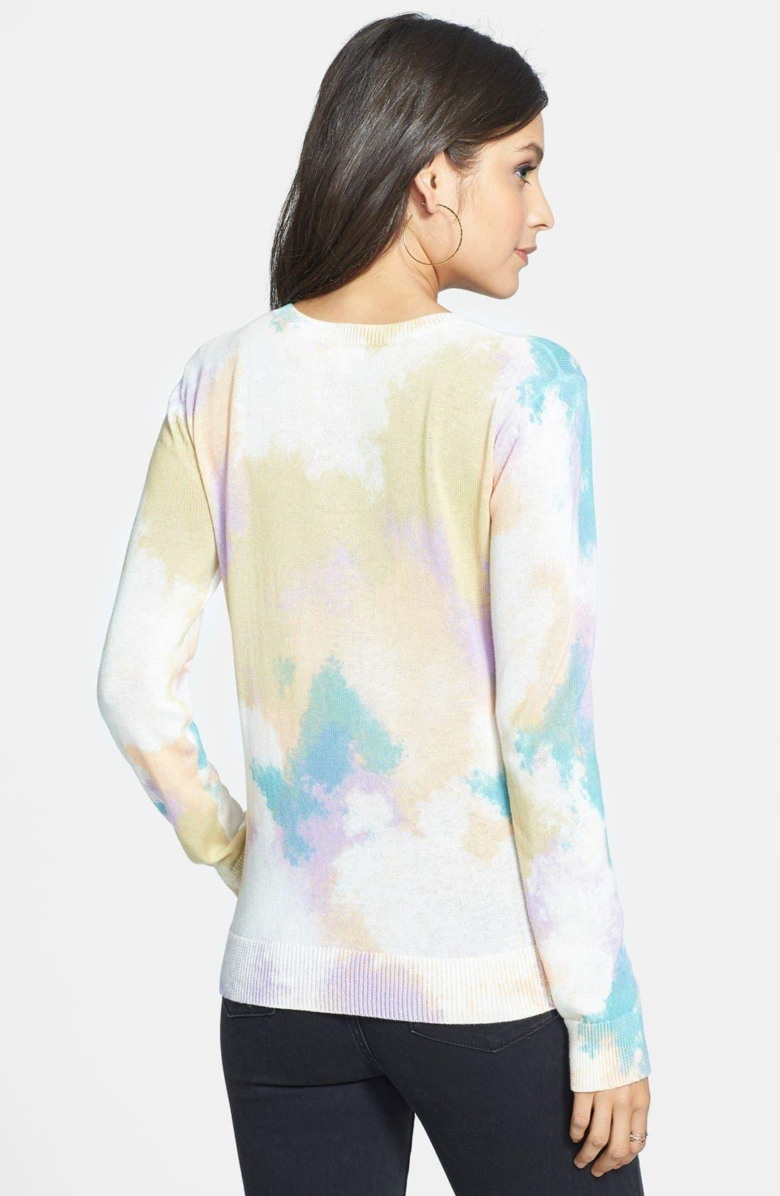 Alternate Image 2  - BP. Print Cotton Pullover (Juniors)