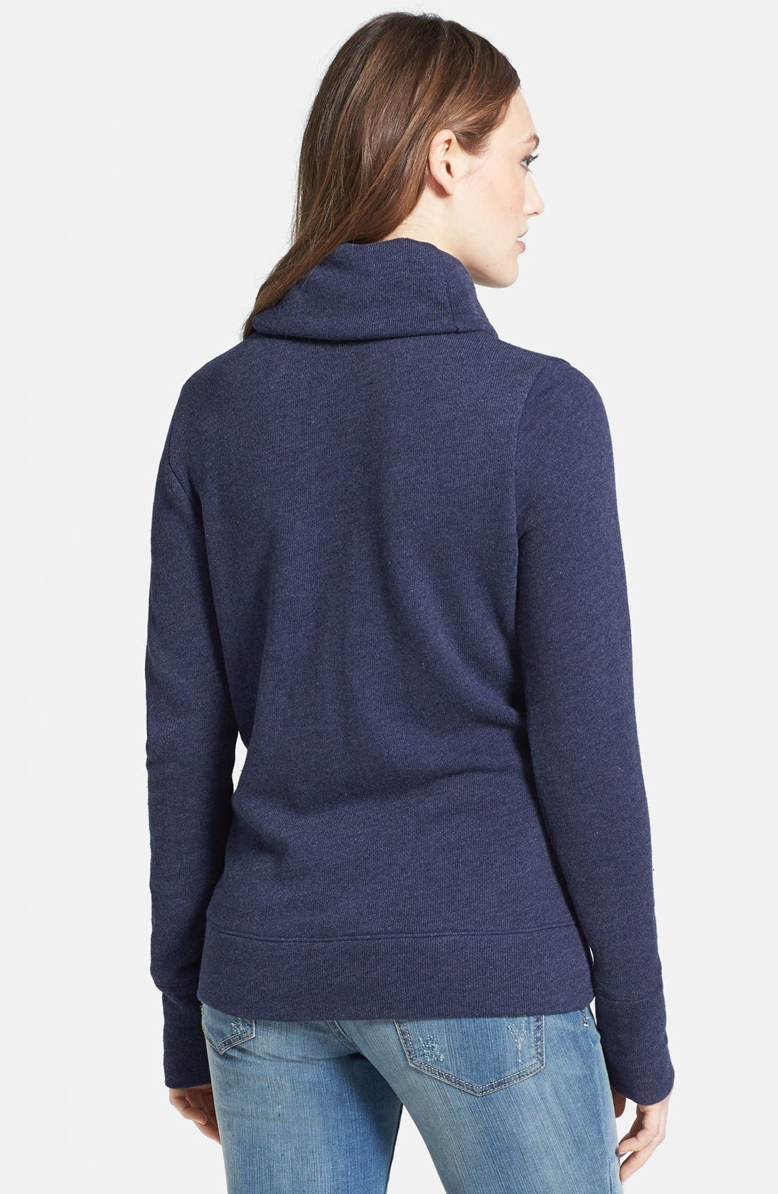 Alternate Image 2  - Caslon® Funnel Neck Pullover