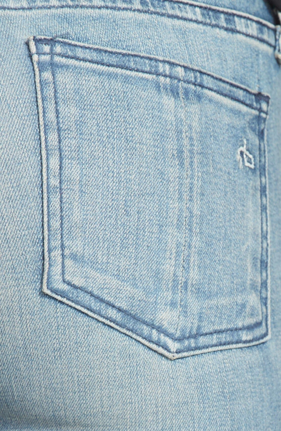 Alternate Image 3  - rag & bone/JEAN 'Samurai Legging' Skinny Jeans (Cardiff)