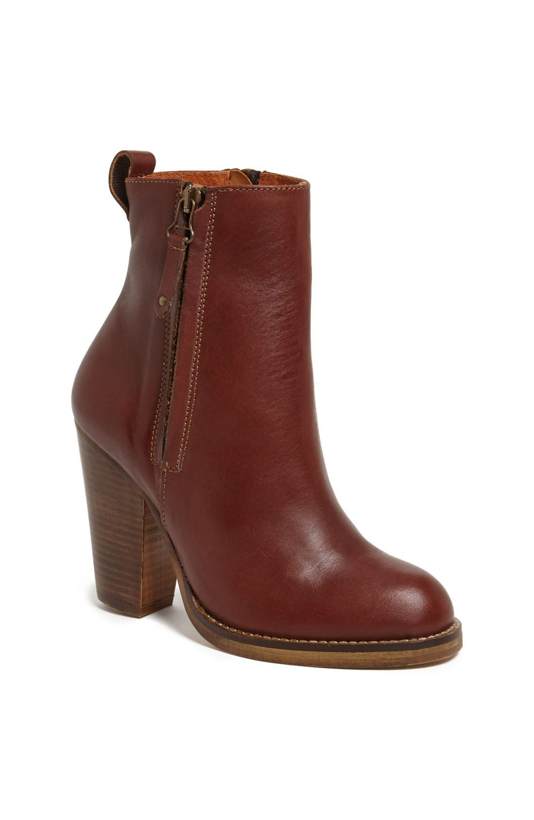 Main Image - Topshop 'Angel' Leather Boot