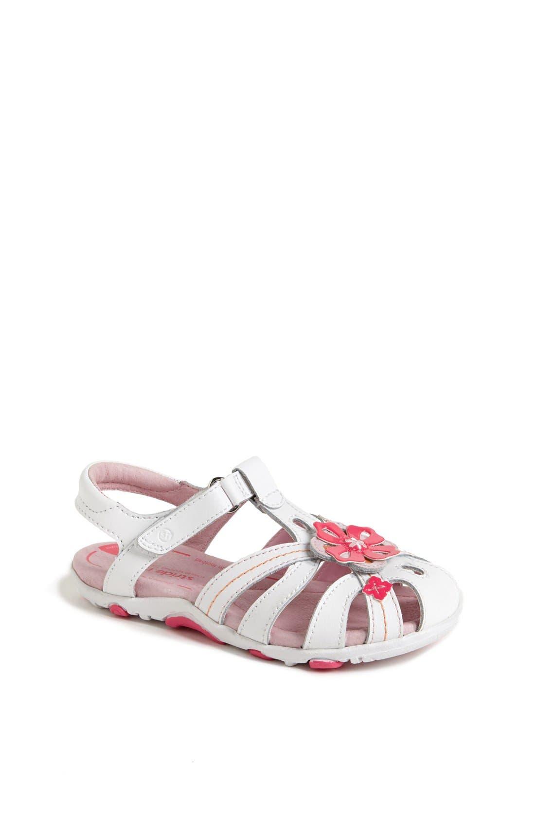 Alternate Image 1 Selected - Stride Rite 'Hazel' Sandal (Toddler & Little Kid)
