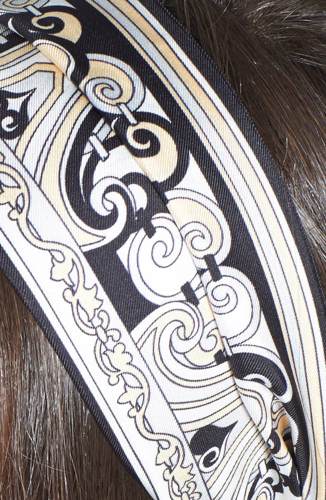Alternate Image 2  - Emilio Pucci 'Pavimento' Silk Head Wrap