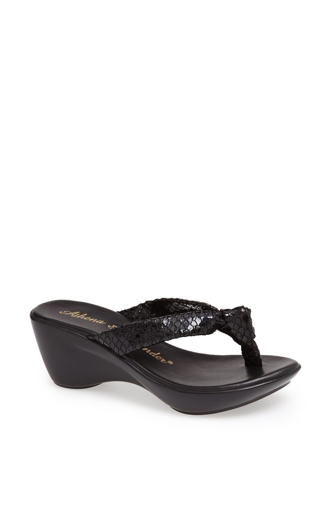 Alternate Image 1 Selected - Athena Alexander 'Ever' Wedge Sandal