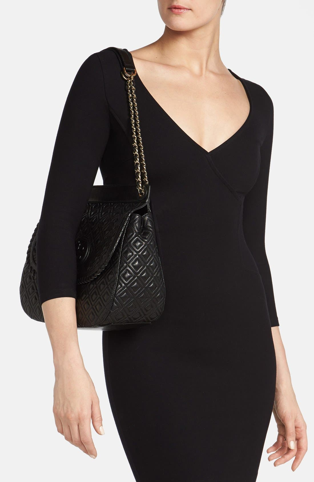 Alternate Image 2  - Tory Burch 'Marion' Quilted Convertible Shoulder Bag