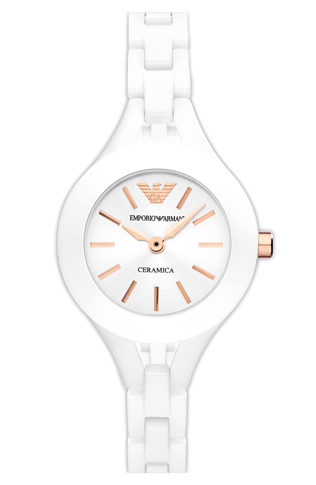 Main Image - Emporio Armani Ceramic Bracelet Watch, 26mm