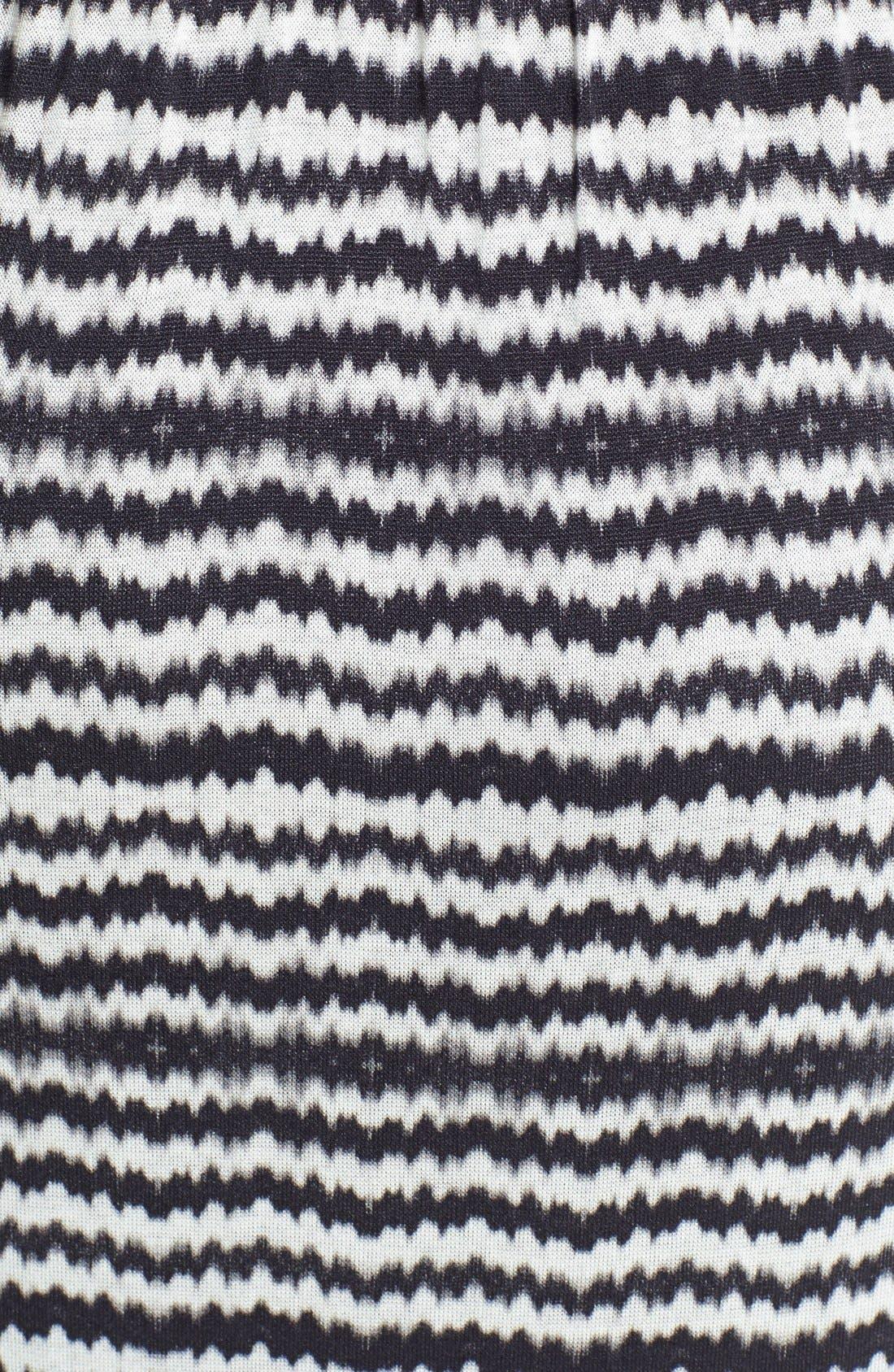 Alternate Image 3  - Velvet by Graham & Spencer Geo Stripe Maxi Dress
