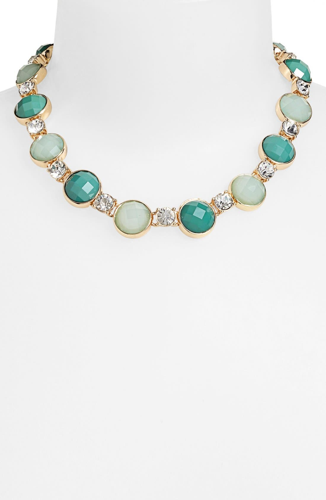 Alternate Image 1 Selected - Anne Klein Stone Collar Necklace