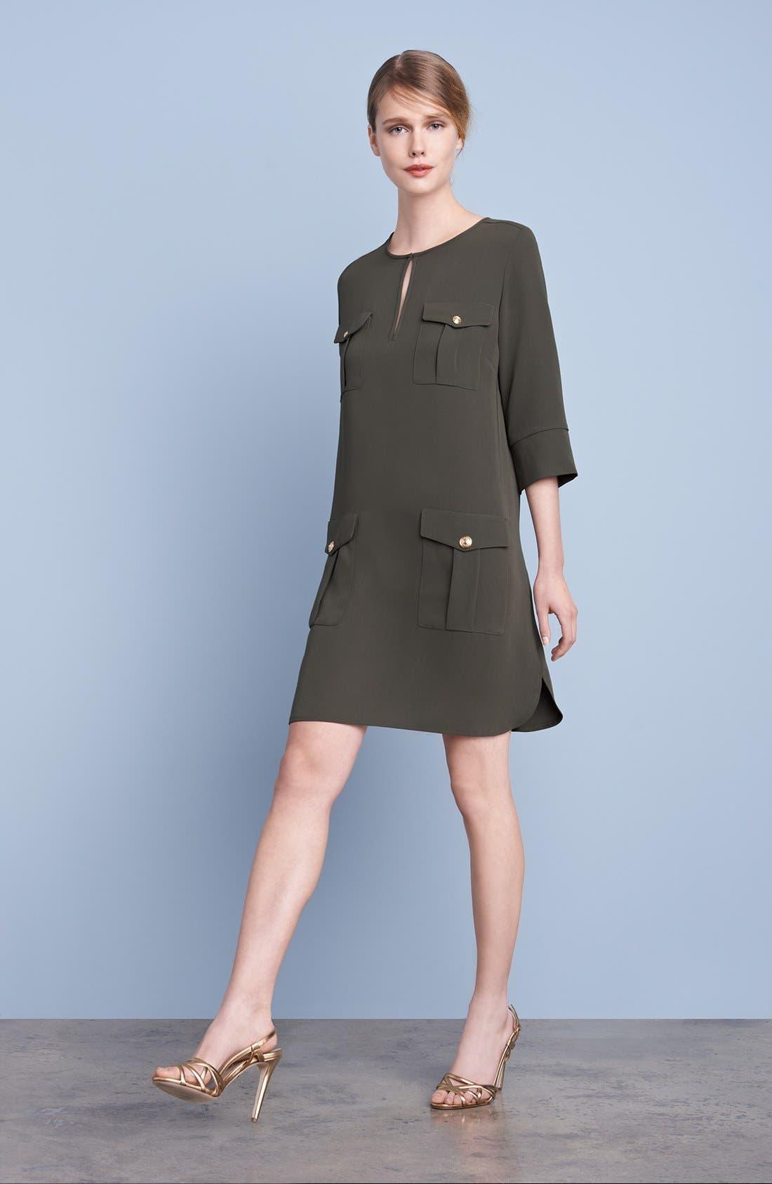 Alternate Image 5  - Diane von Furstenberg 'Agness' Woven Shift Dress