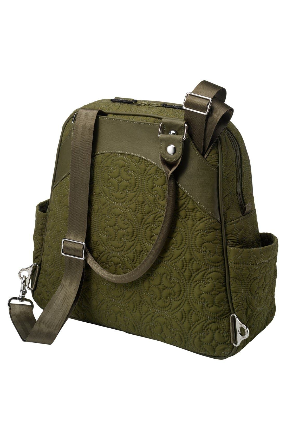 Alternate Image 2  - Petunia Pickle Bottom 'Embossed Sashay Satchel' Diaper Bag