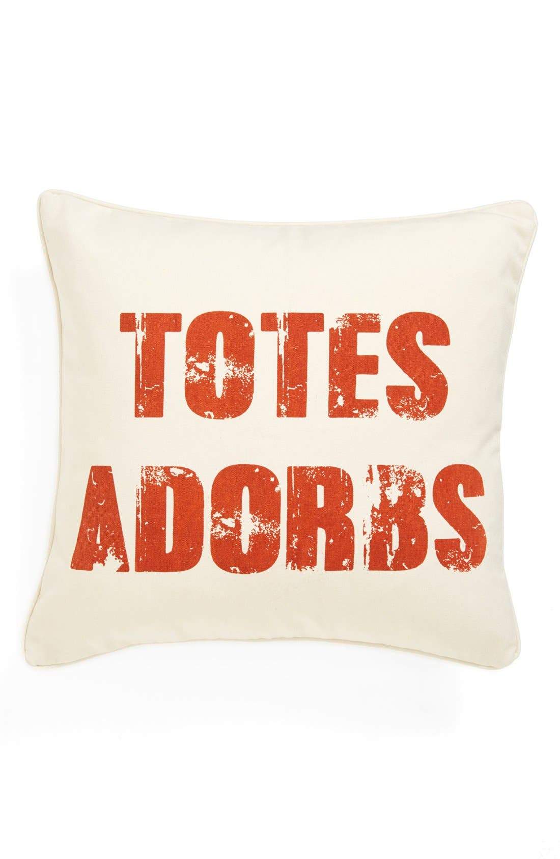 Alternate Image 1 Selected - Levtex 'Totes Adorbs' Square Pillow