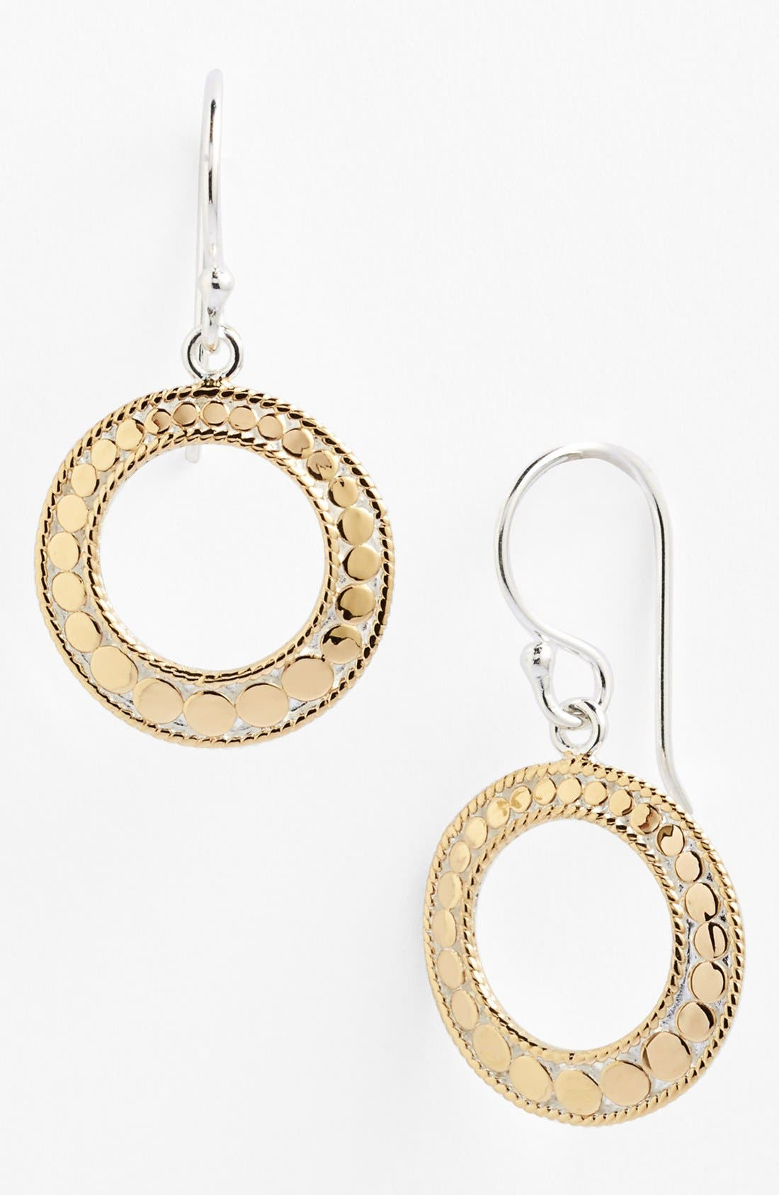 Alternate Image 1 Selected - Anna Beck 'Gili' Circle Drop Earrings