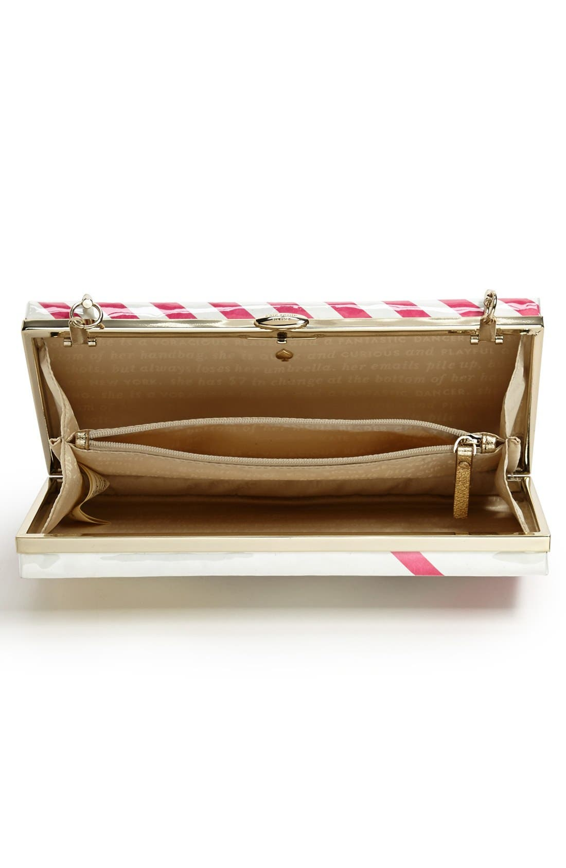 Alternate Image 3  - kate spade new york 'the original miss penny's ' box clutch