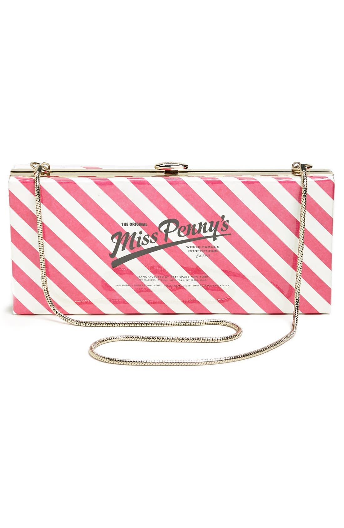 Alternate Image 4  - kate spade new york 'the original miss penny's ' box clutch