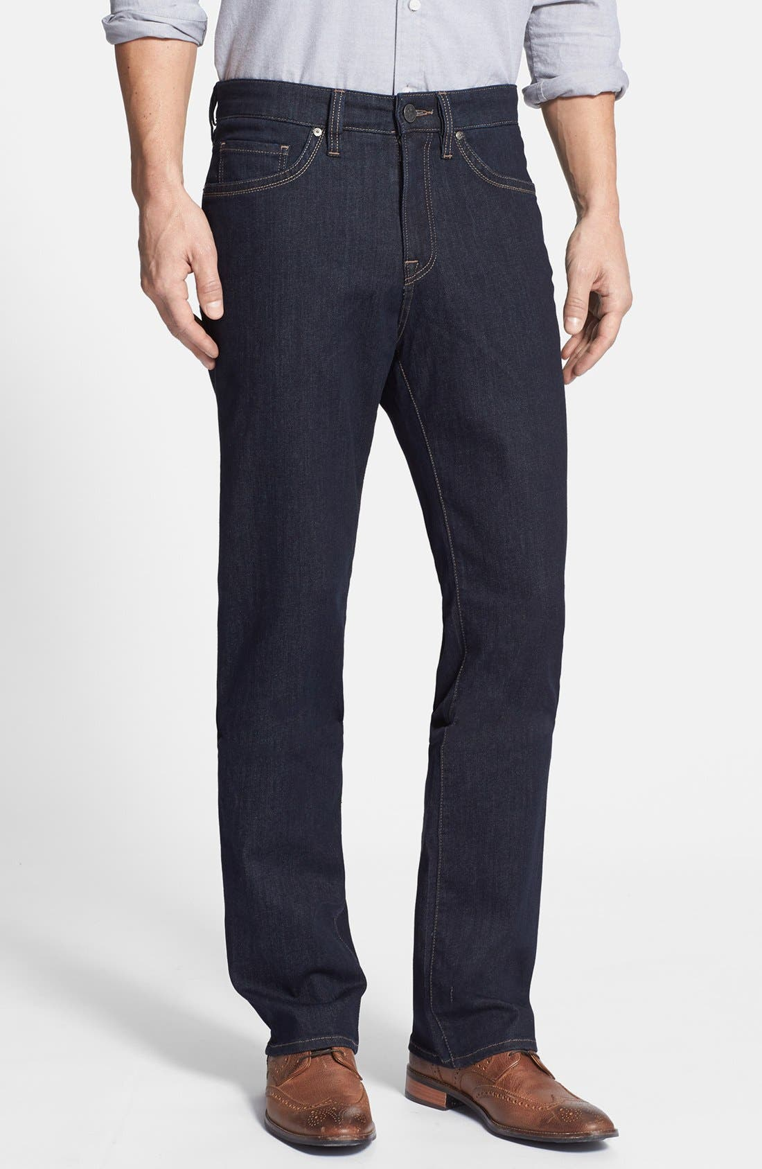34 Heritage 'Charisma' Classic Relaxed Fit Jeans (Midnight Cashmere) (Regular & Tall)