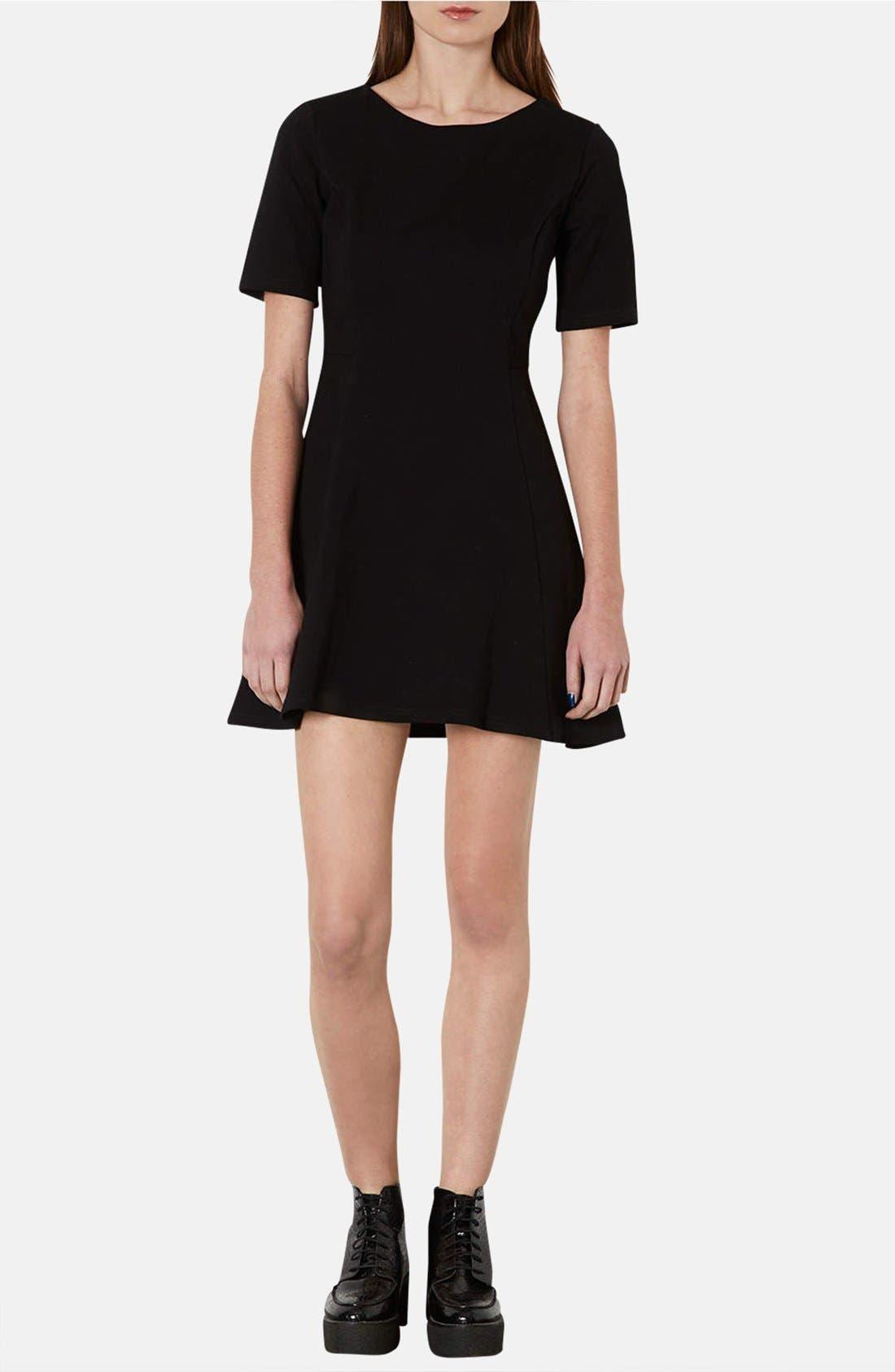 Alternate Image 1 Selected - Topshop Jersey Skater Dress