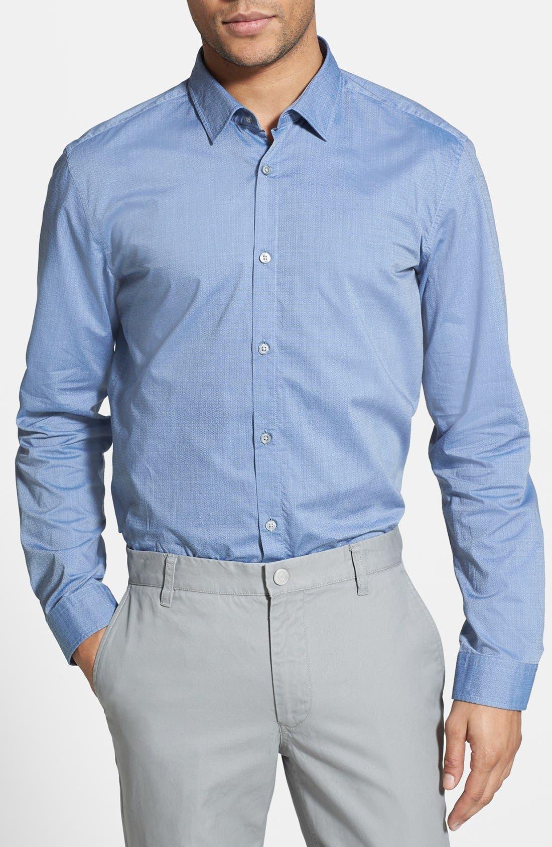 Alternate Image 1 Selected - BOSS HUGO BOSS 'Nemos' Slim Fit Sport Shirt