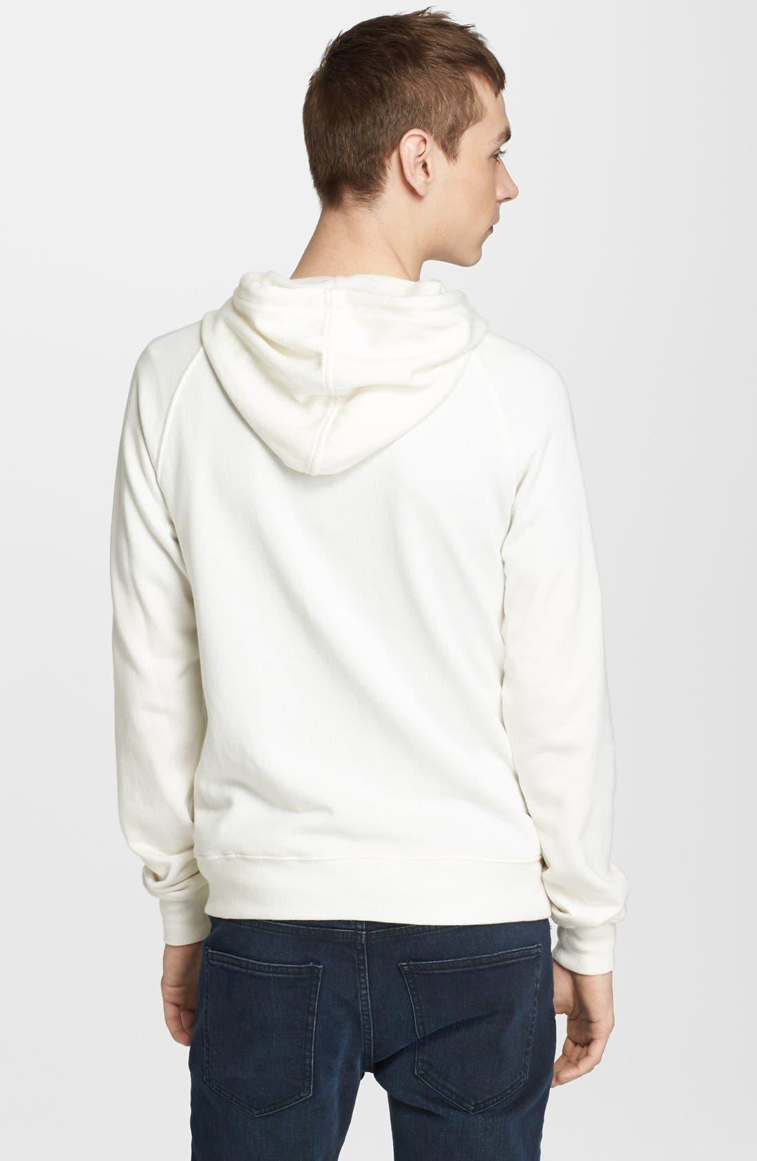 Alternate Image 2  - BLK DNM 'Sweatshirt 3' Zip Hoodie