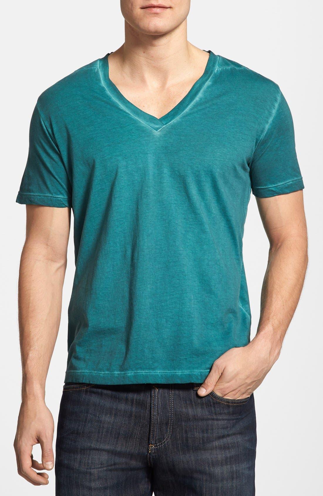 Alternate Image 1 Selected - DIESEL® 'T-Gatien' V-Neck T-Shirt