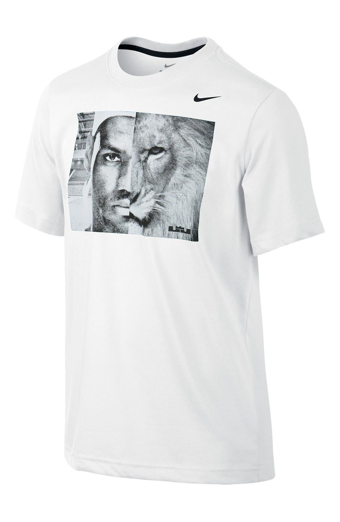 Alternate Image 1 Selected - Nike 'Opposing Forces' T-Shirt (Big Boys)
