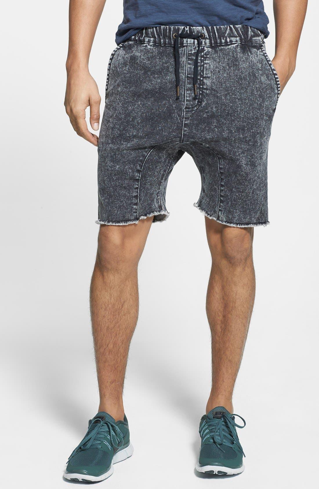 Alternate Image 1 Selected - ZANEROBE 'Sureshot' Cutoff Jogger Shorts