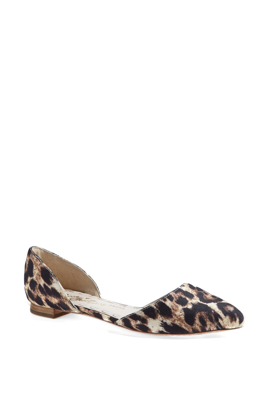 Main Image - Alice + Olivia 'Hilary' d'Orsay Flat (Online Only)