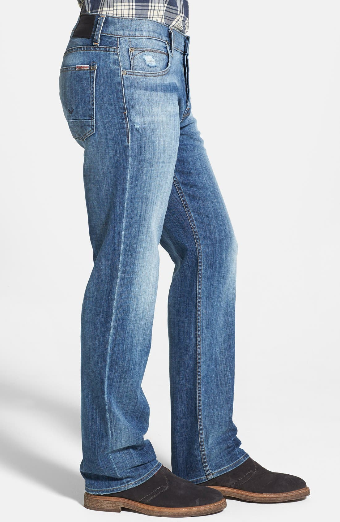 Alternate Image 3  - Hudson Jeans 'Wilde' Relaxed Fit Jeans (Melt Into The Sea)