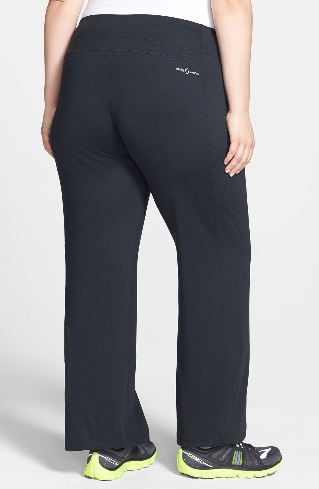 Alternate Image 2  - Moving Comfort 'Fearless' Pants (UPF 50) (Plus Size)
