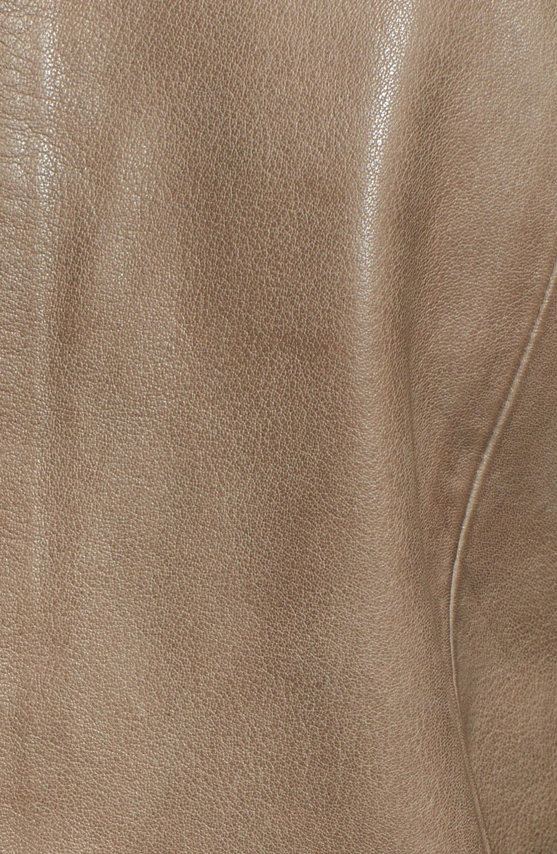 Alternate Image 3  - LaMarque 'Esther' Leather Jacket with Removable Mesh Sleeves