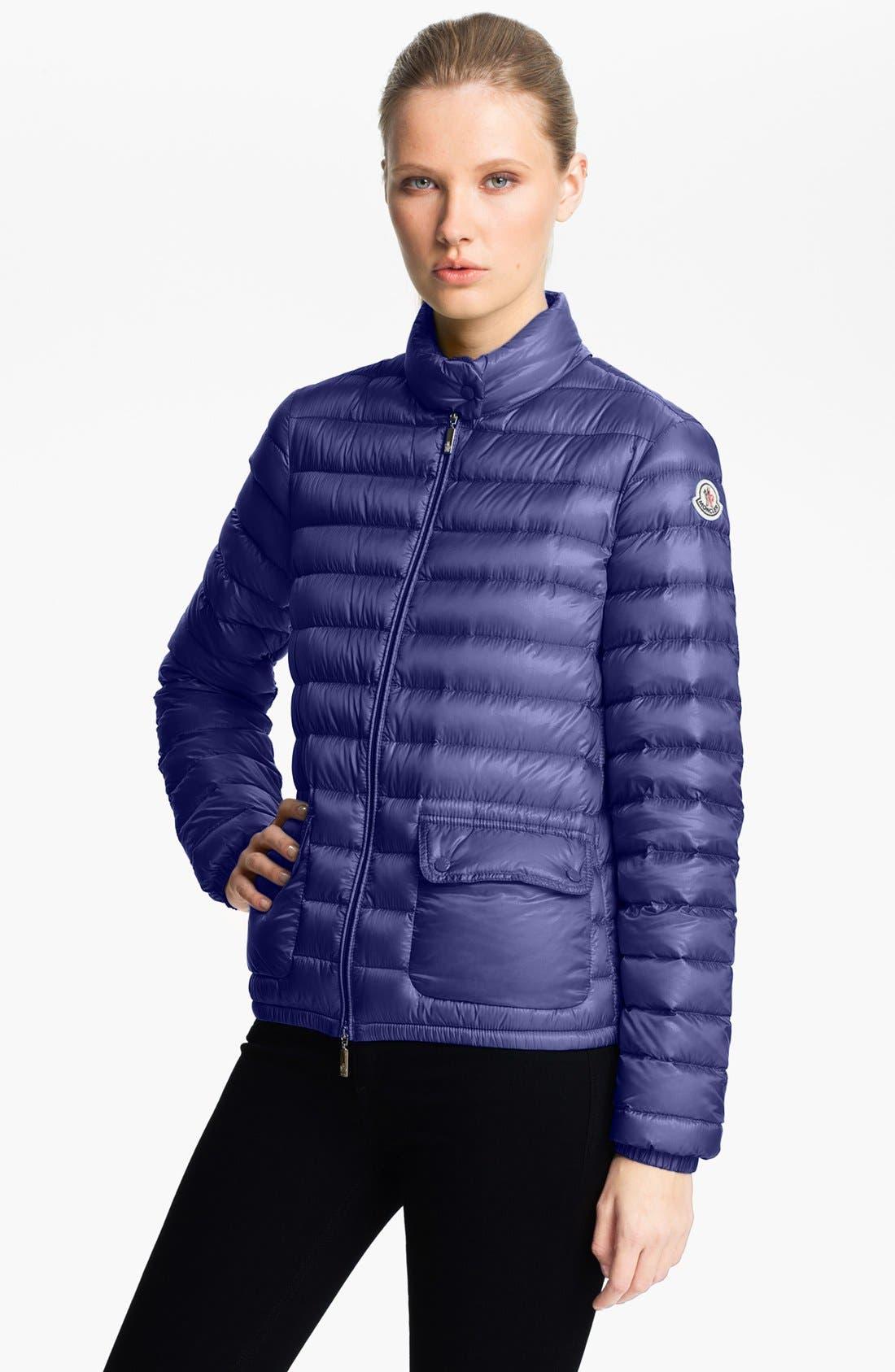 Alternate Image 1 Selected - Moncler 'Lans' Lightweight Down Jacket