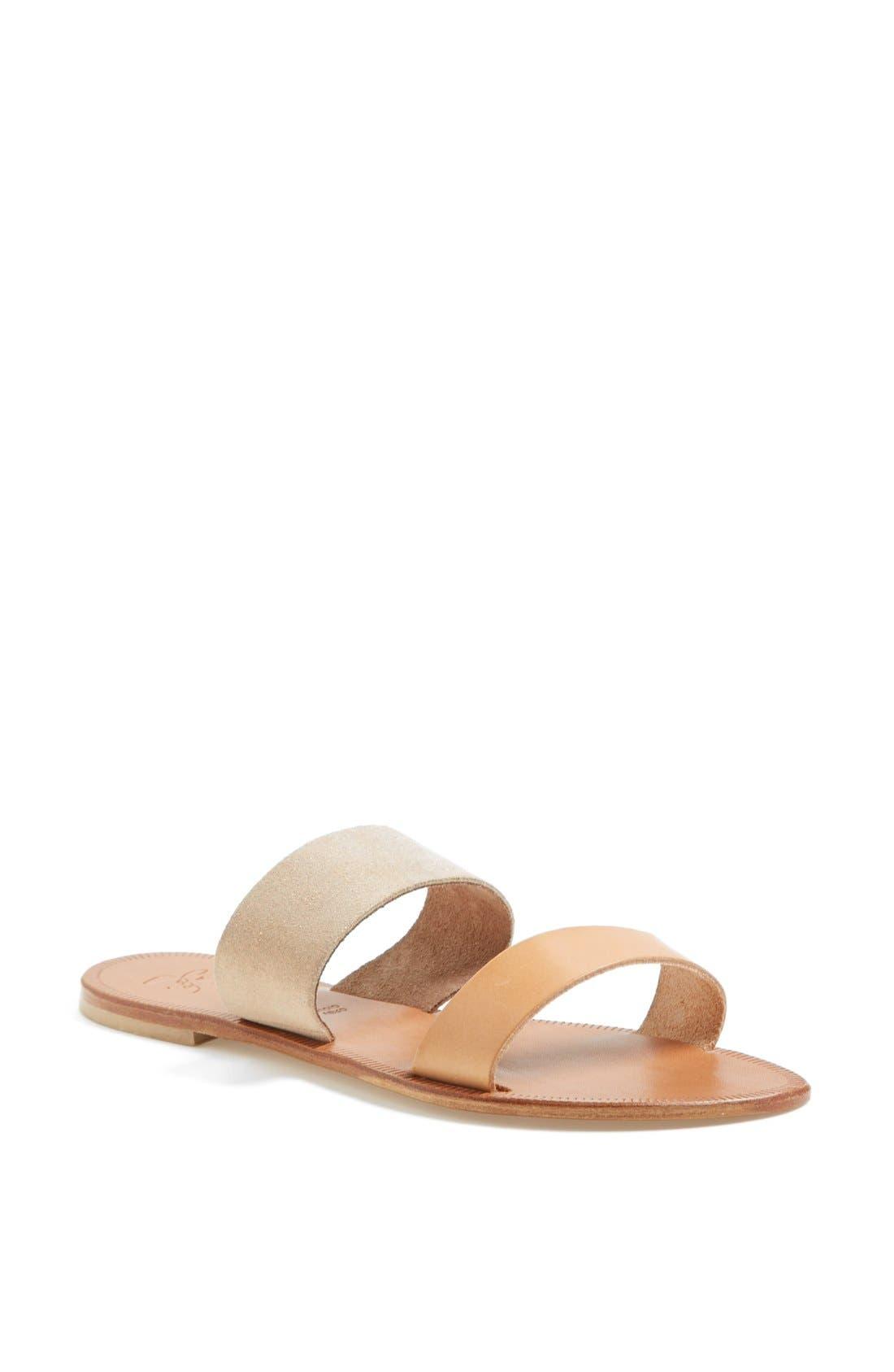 Main Image - Joie a la Plage 'Sable' Leather Slip-On Sandal (Women)
