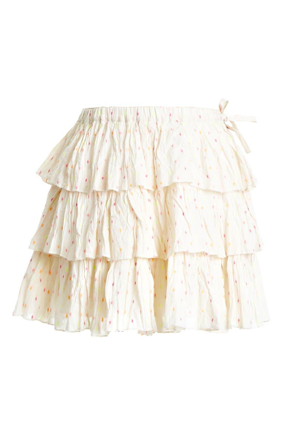 Alternate Image 1 Selected - Peek 'Kelsee' Skirt (Toddler Girls, Little Girls & Big Girls)