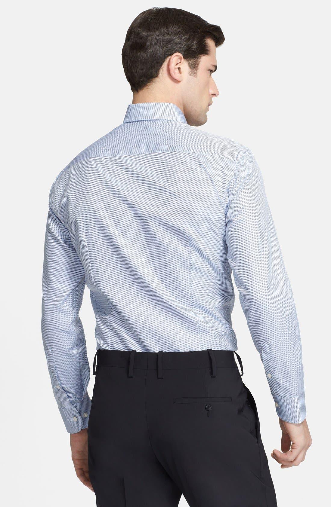 Alternate Image 2  - Armani Collezioni Slim Fit Dress Shirt