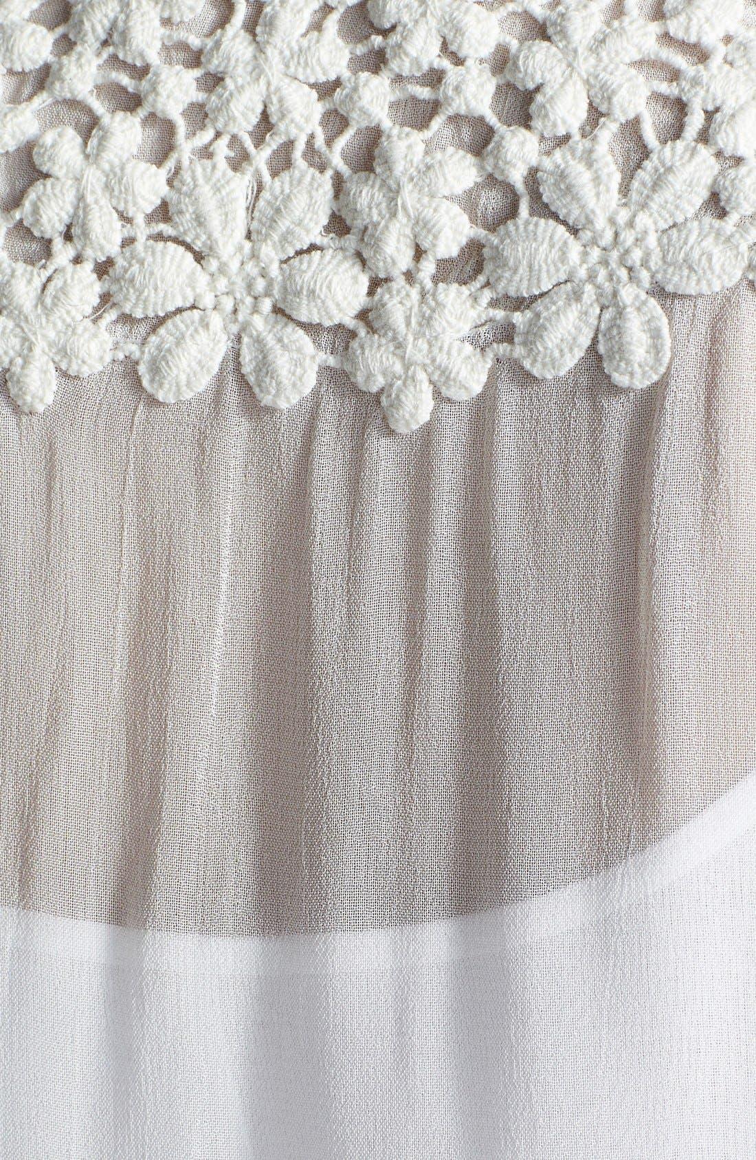 Alternate Image 3  - Dex Embroidered Sleeveless Blouse