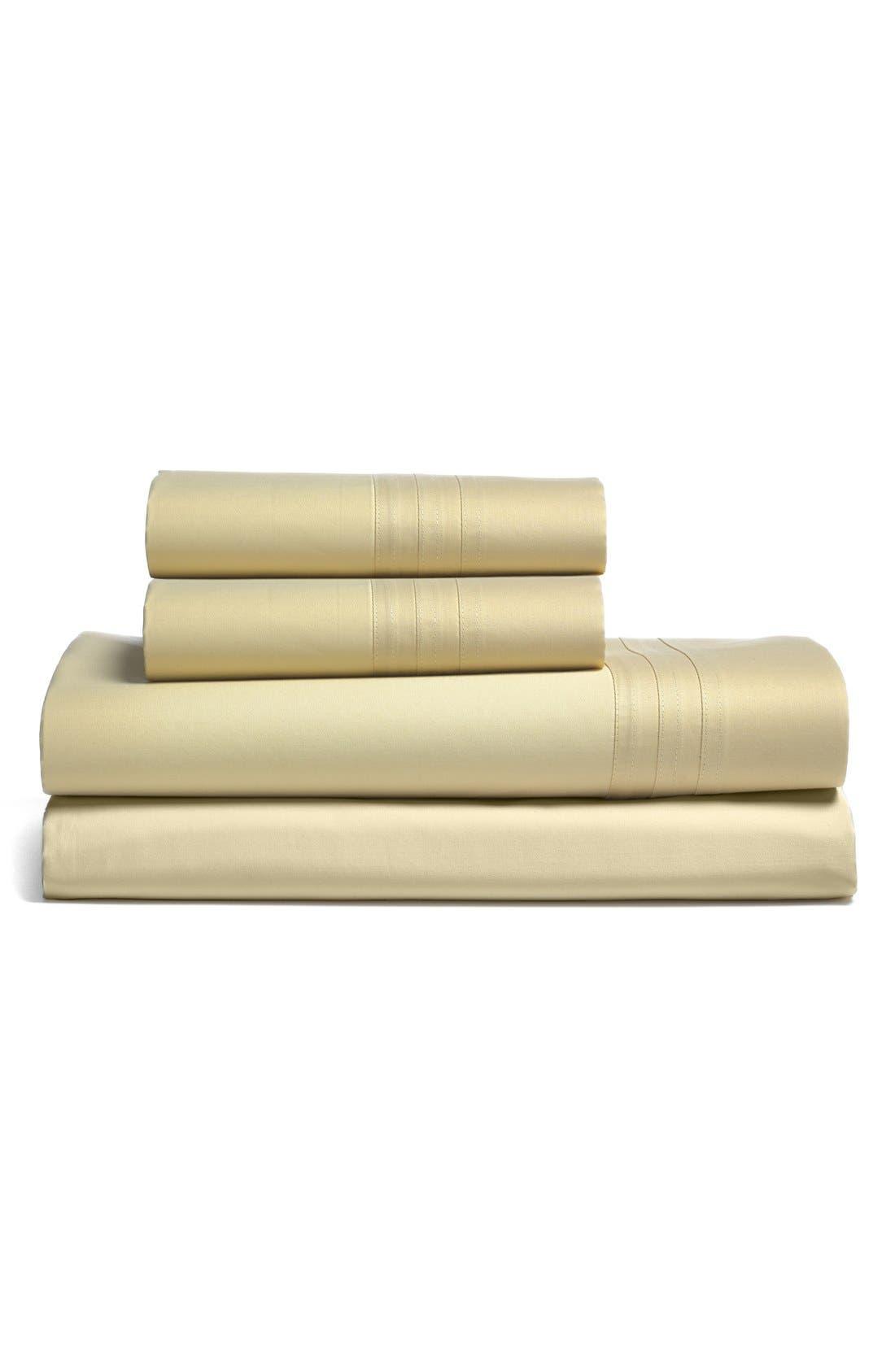 Alternate Image 1 Selected - Donna Karan 510 Thread Count Flat Sheet (Online Only)