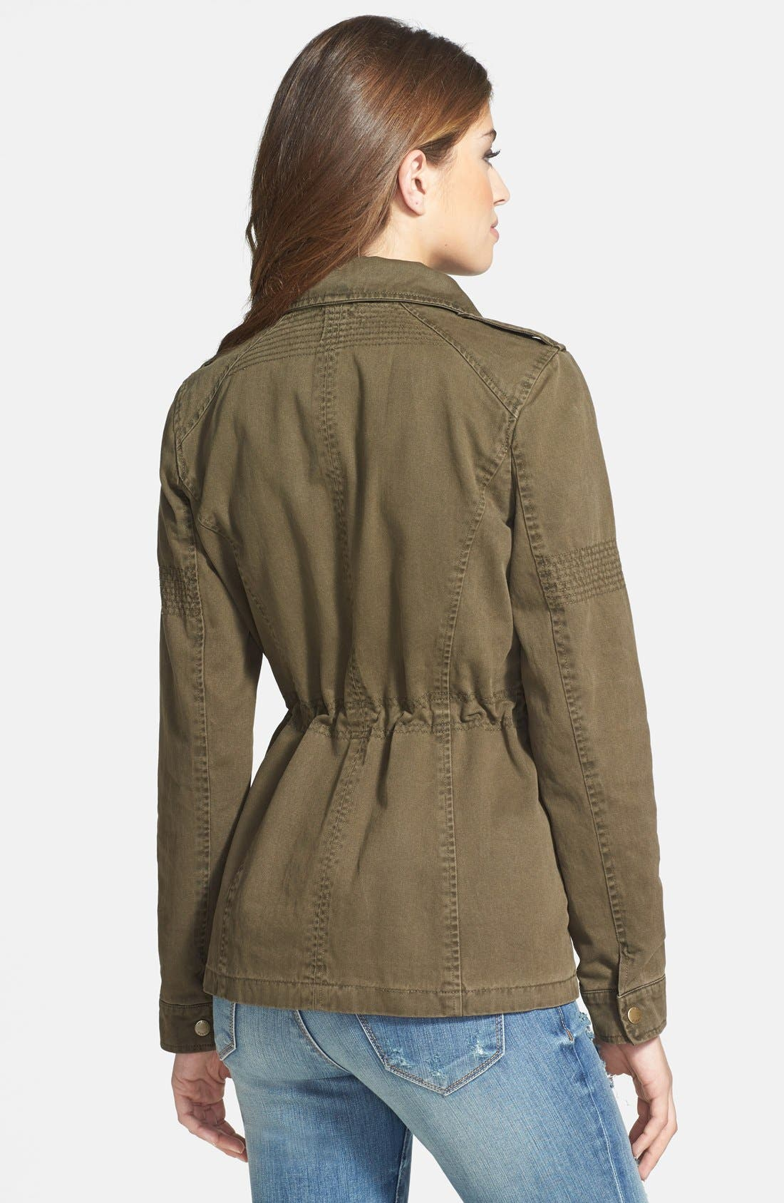Alternate Image 2  - GUESS Studded Army Anorak