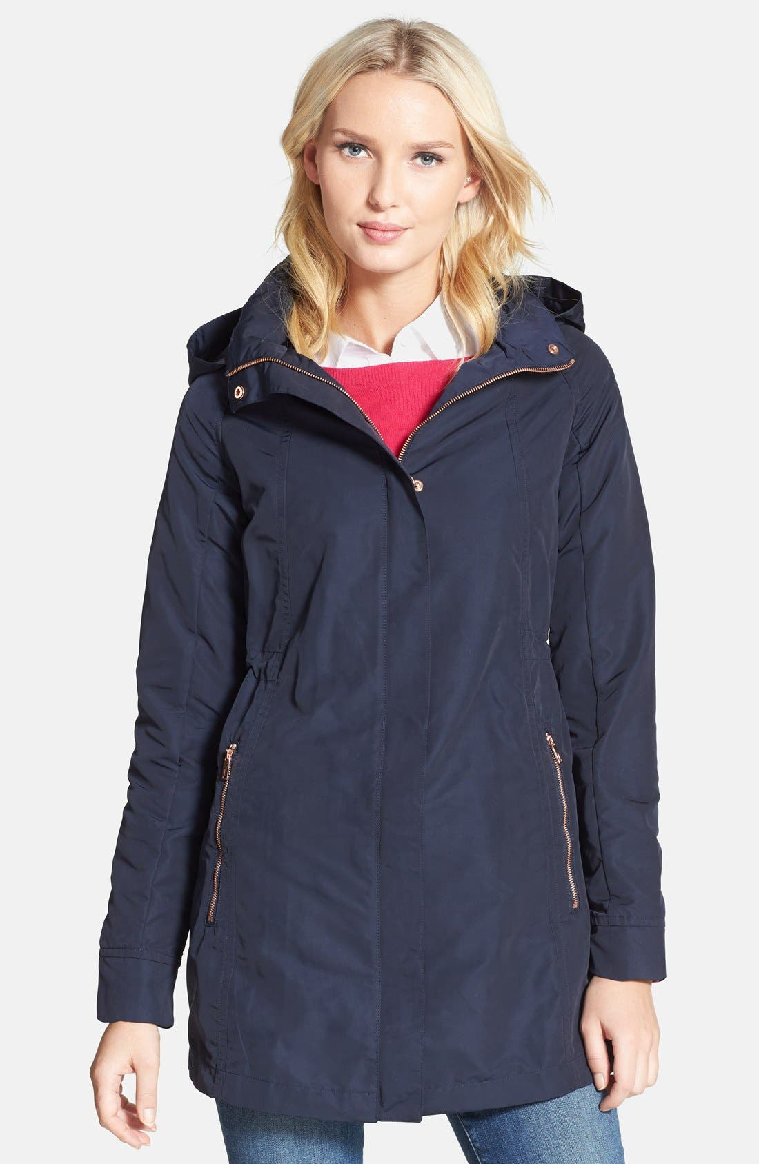 Main Image - Ted Baker London 'Bozica' Parka with Detachable Hood