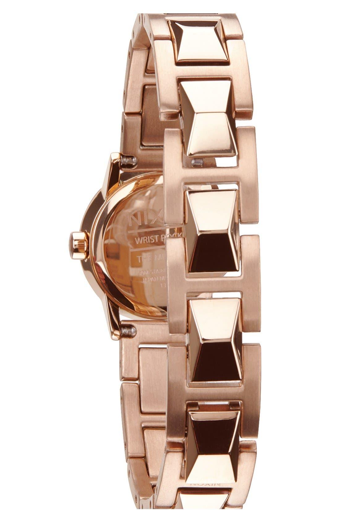 Alternate Image 2  - Nixon 'The Mini B' Bracelet Watch, 22mm