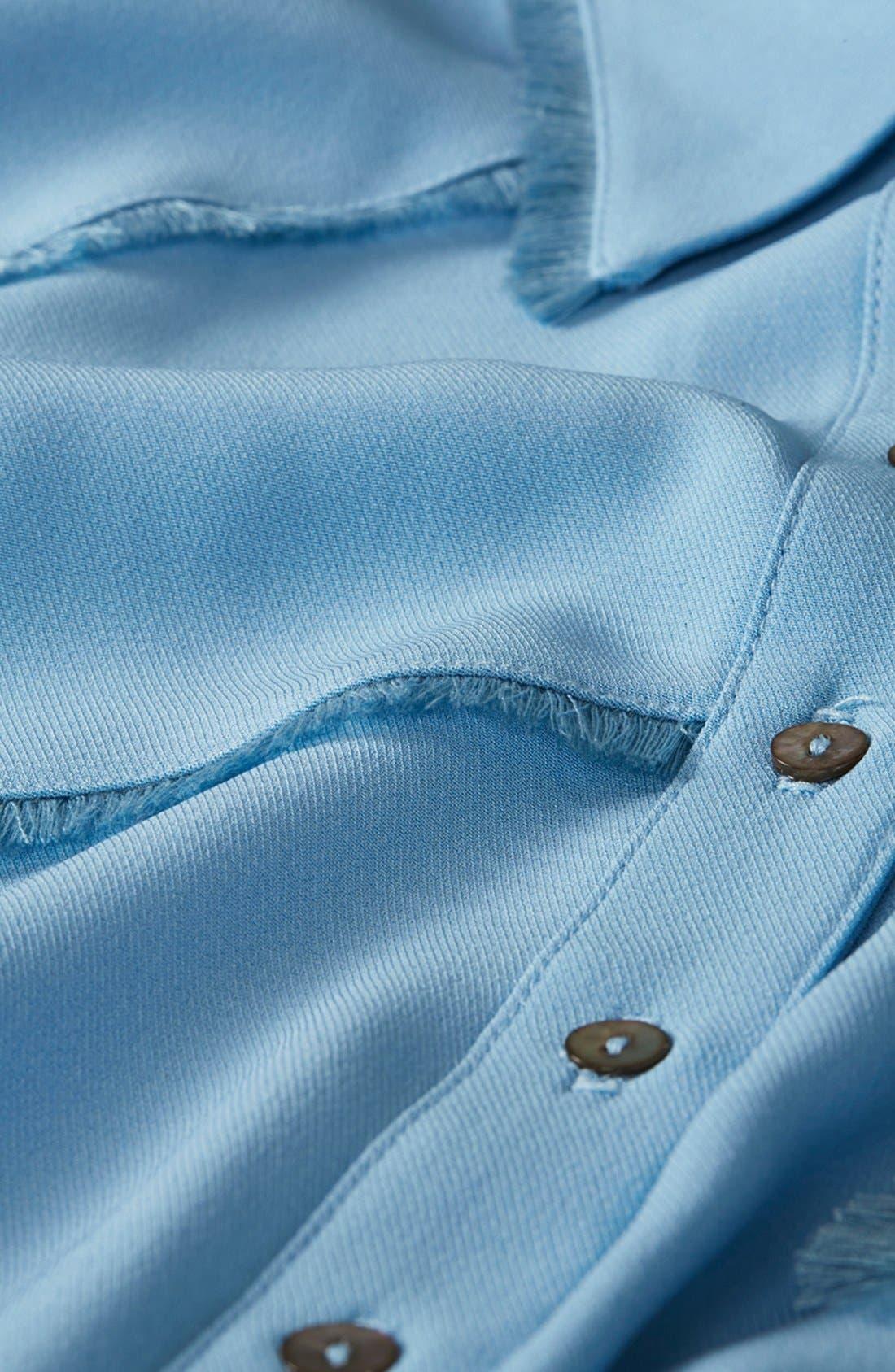 Alternate Image 4  - Topshop Unique 'Fray' Shirt
