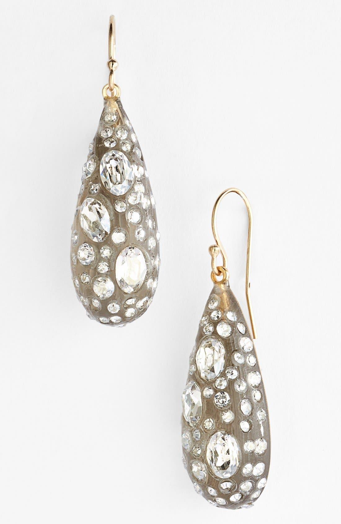 Alternate Image 1 Selected - Alexis Bittar 'Lucite® - Jardin Mystère' Teardrop Earrings