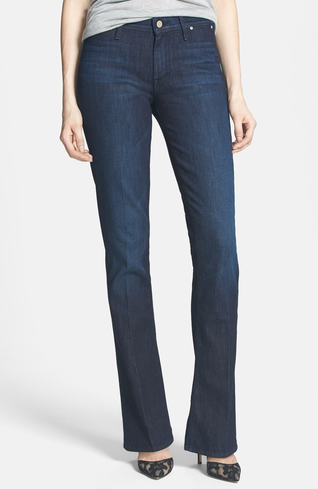 Main Image - MOTHER 'Daydreamer' Skinny Flare Leg Jeans (Night Moves)