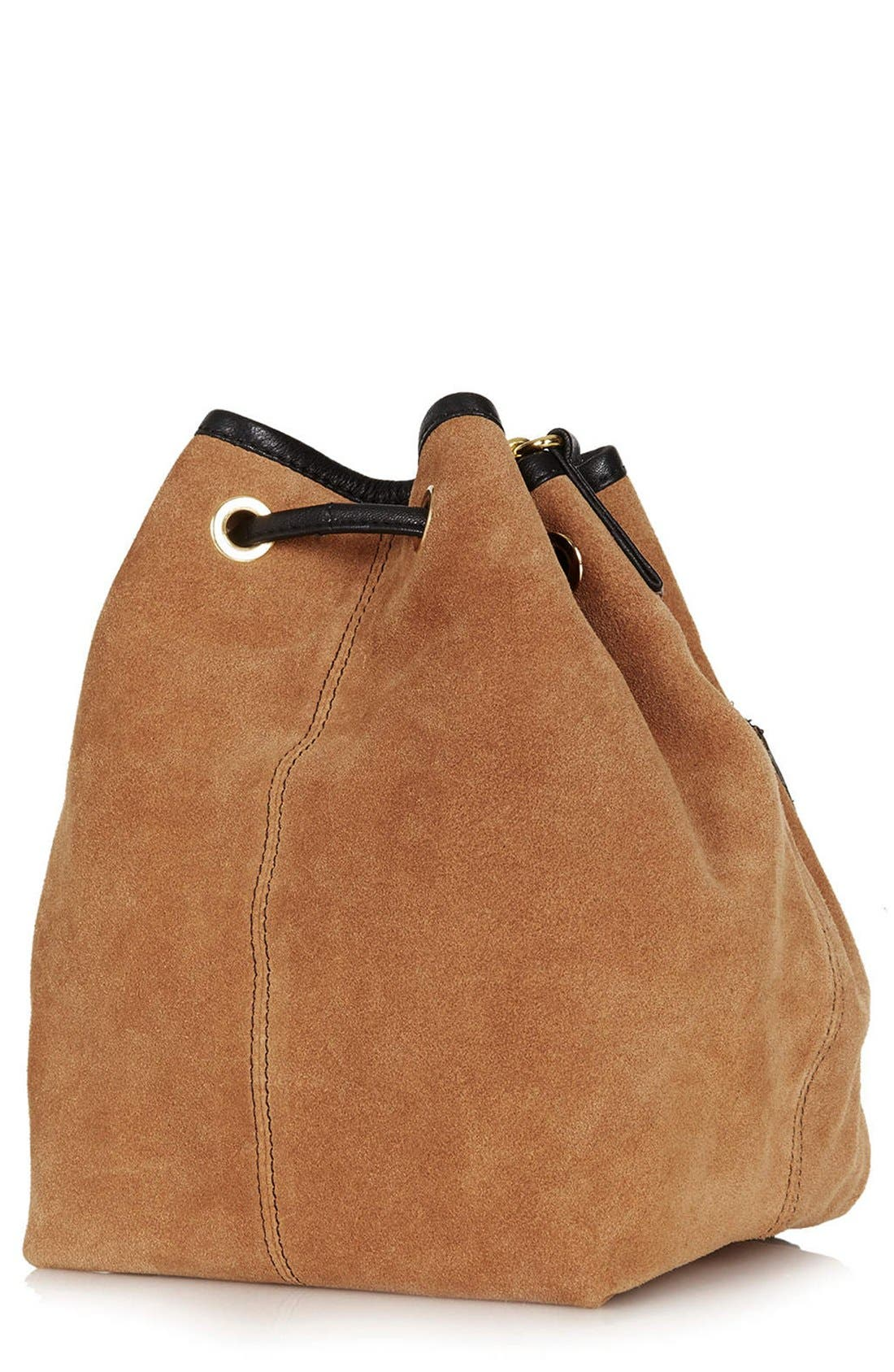 Alternate Image 4  - Topshop Pouch Pocket Drawstring Bag