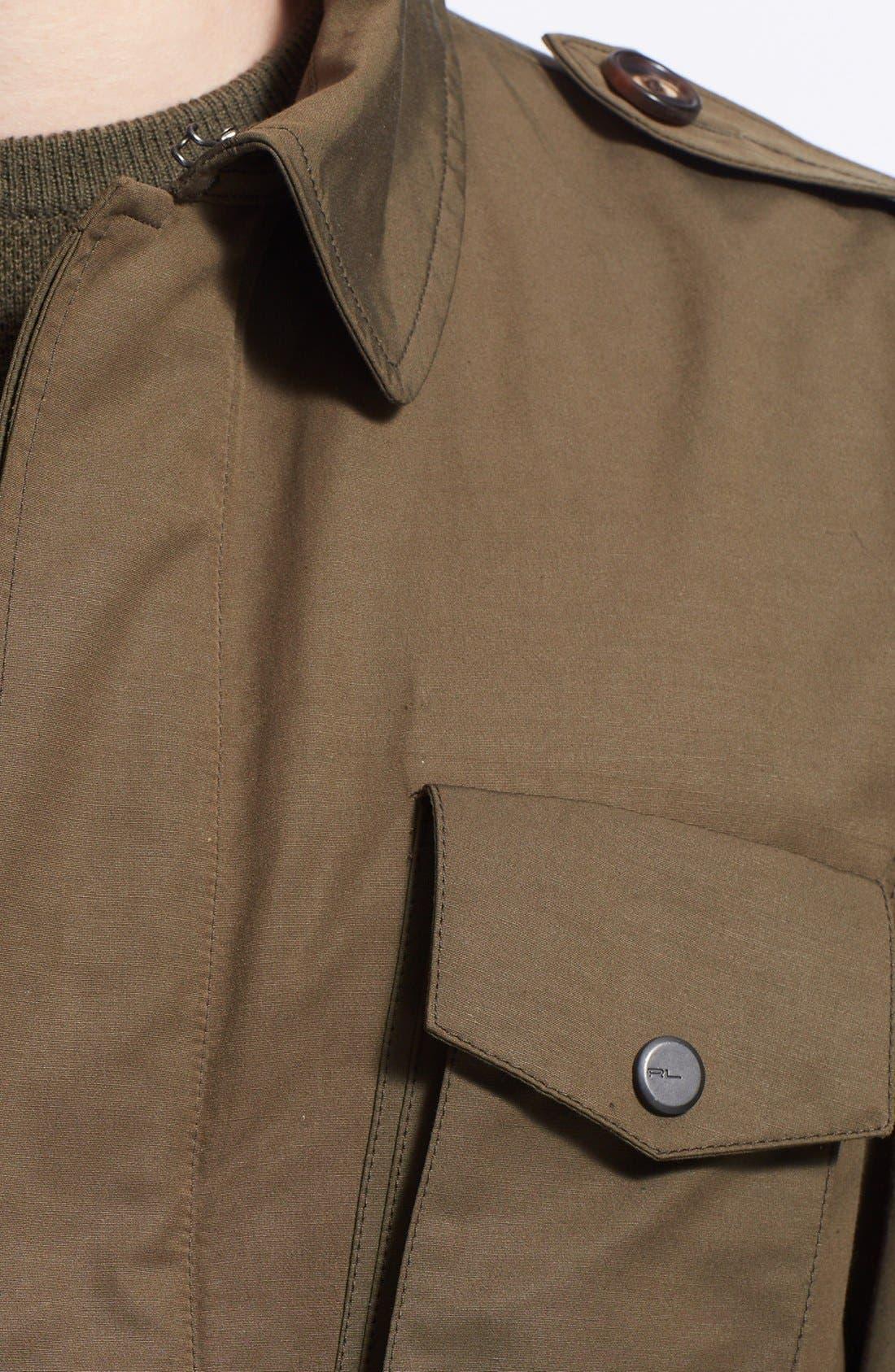 Alternate Image 3  - Ralph Lauren Black Label Military Jacket