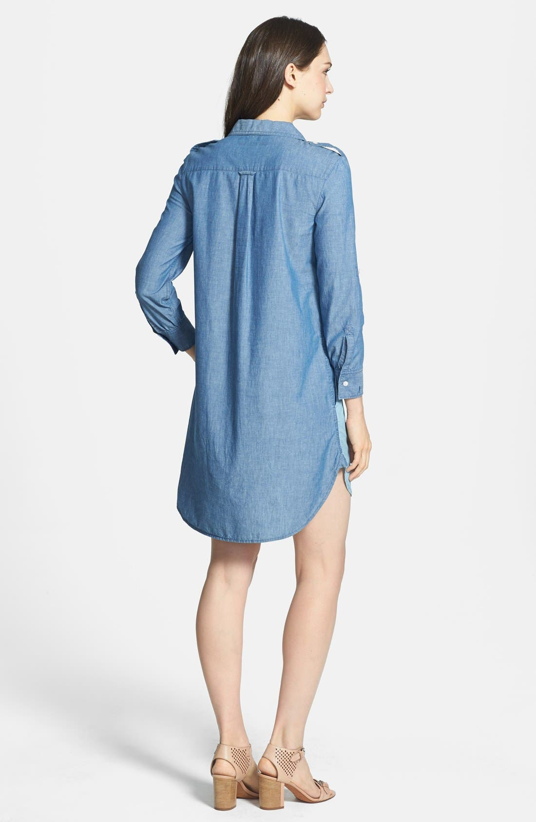 Alternate Image 2  - MARC BY MARC JACOBS 'Catalina' Chambray Shirtdress