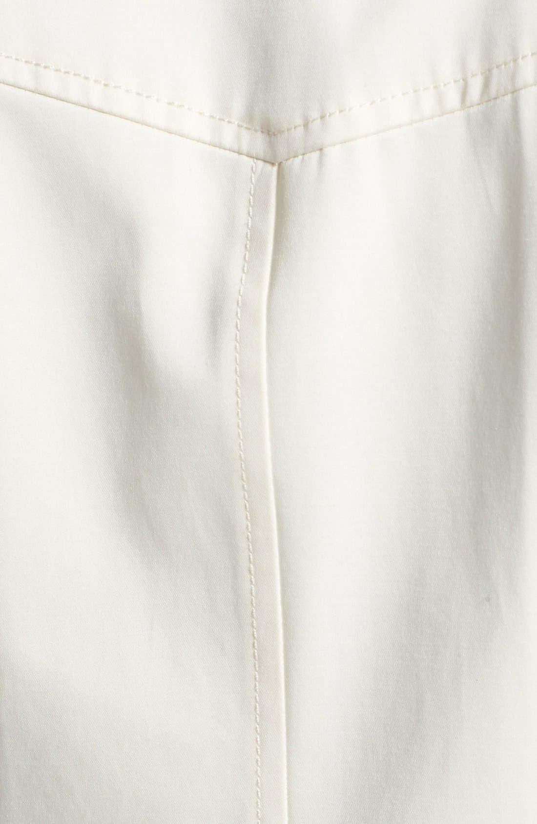 Alternate Image 3  - Soia & Kyo Asymmetrical Two-Tone Trench Coat