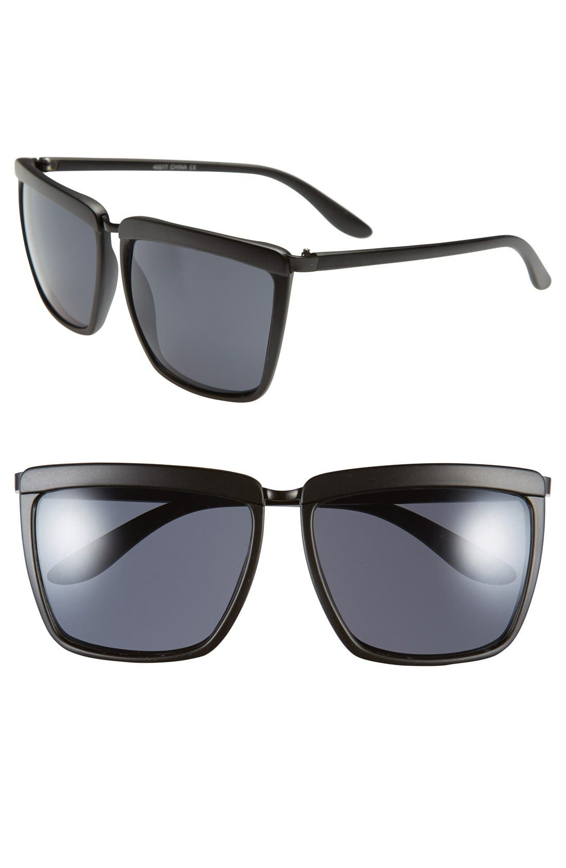 Main Image - A.J. Morgan 'Shady' 60mm Sunglasses