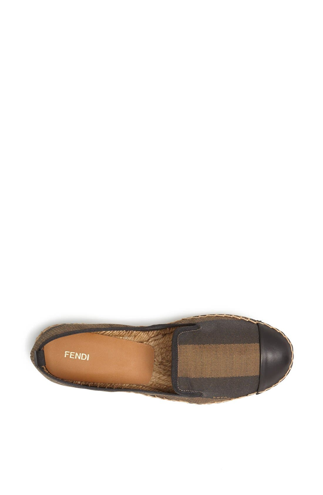 Alternate Image 3  - Fendi 'Junia' Espadrille Flat (Women)