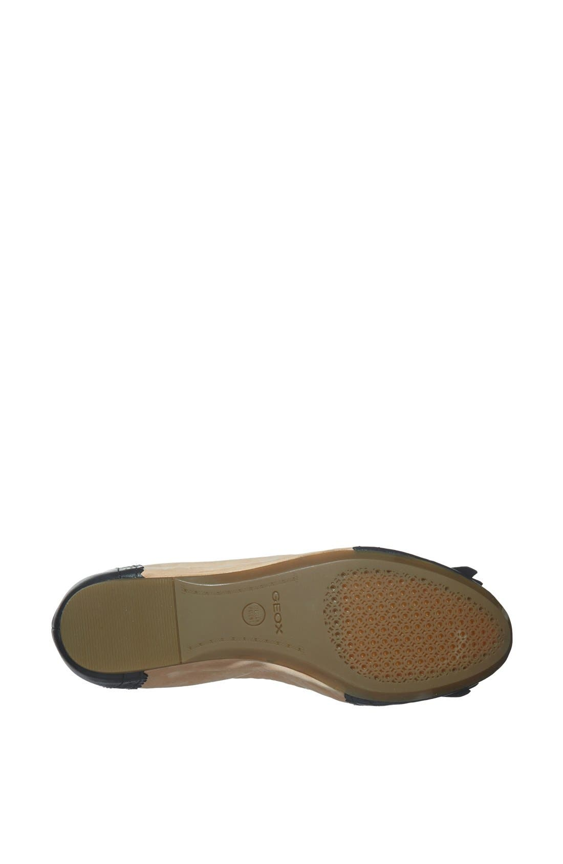 Alternate Image 4  - Geox 'Karima' Leather Flat