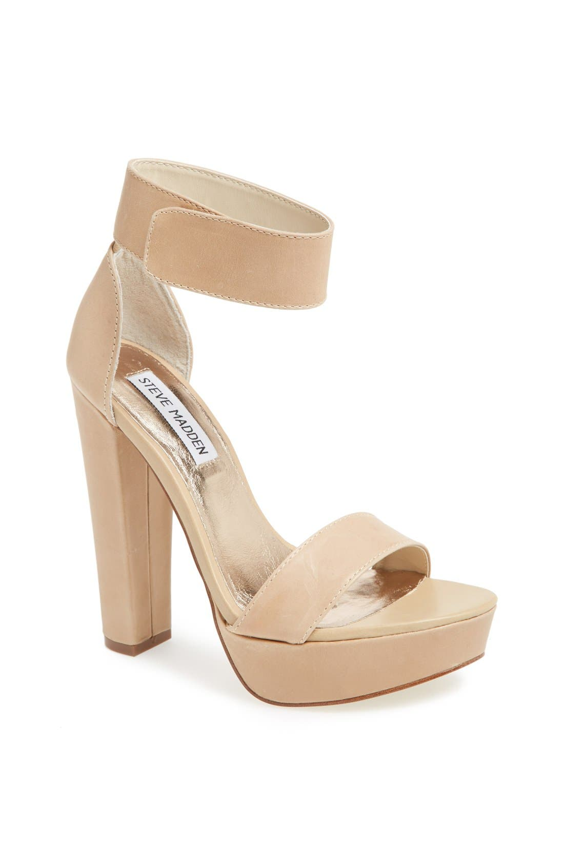 Alternate Image 1 Selected - Steve Madden 'Cluber' Platform Sandal