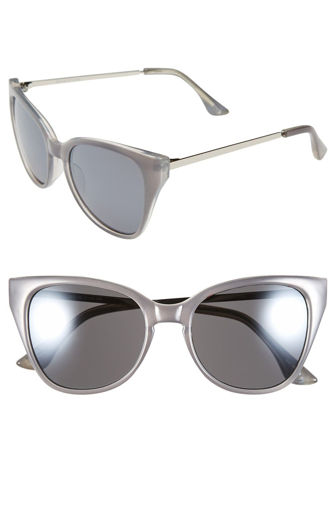 Alternate Image 1 Selected - Isaac Mizrahi New York 51mm Retro Sunglasses